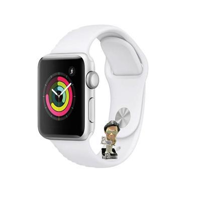 Reloj inteligente APPLE WATCH SERIES 3 42MM Silver Aluminum White Sport Band Model A1859