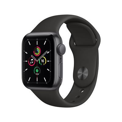 Reloj inteligente APPLE WATCH SE 40MM Space Gray Aluminum Case Black Sport Band