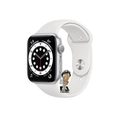 Reloj inteligente APPLE WATCH SERIES 6 40MM Silver Aluminum Case White
