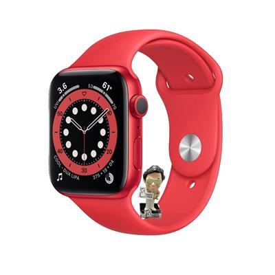 Reloj inteligente APPLE WATCH SERIES 6 40MM Red Aluminum Case Red Sport Band
