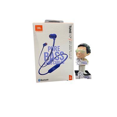 Auricular JBL TUNE 110BT bluetooth in ear c/ mic color azul