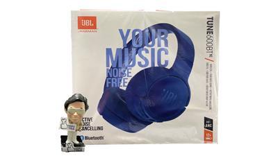 Auricular JBL 600BT bluetooth on ear c/ mic color azul pure bass sound