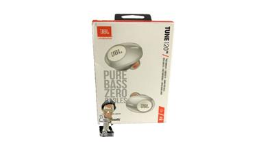 Auricular JBL TUNE 120 TWS Earbuds c/ mic color blanco