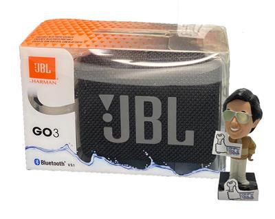 Parlante inalambrico JBL GO 3 bluetooth black (negro)