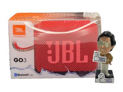Parlante inalambrico JBL GO 3 bluetooth blue ( rojo )