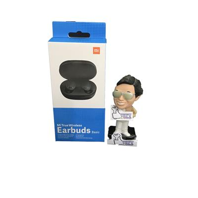Auricular XIAOMI Mi True wireless Earbuds bluetooth c/ mic color negro