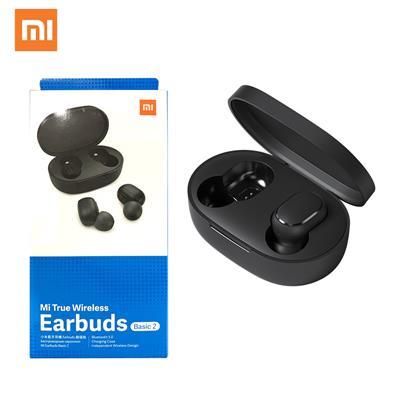 Auricular XIAOMI Mi True wireless Earbuds bluetooth Basic 2 c/ mic color negro