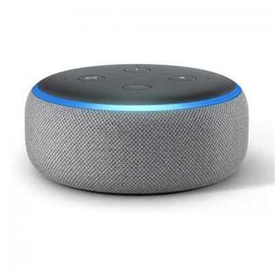 Parlante inalámbrico AMAZON Echo Dot 3era GEN SILVER/BLACK