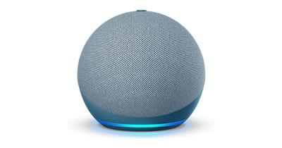 Parlante inalámbrico AMAZON Echo Dot 4ta Generación Bluetooth color azul