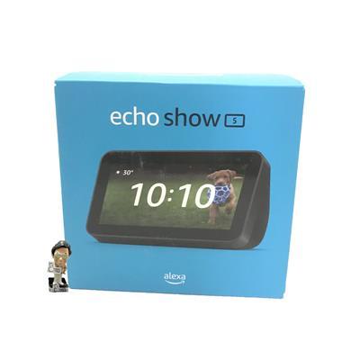 Parlante inalámbrico AMAZON Echo Show 5 2*Gen. color Negro