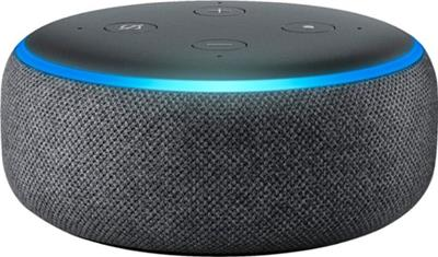 Parlante inalámbrico AMAZON Echo Dot 3era GEN color BLANCO color BLACK