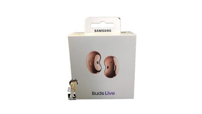 Auricular SAMSUNG SM-R180NZNAMEA BUDS LIVE bluetooth earbuds in ear c/ microfono color bronze
