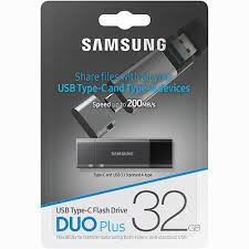 Pendrive SAMSUNG MUF-32DB/AM 32gb USB 3.0 Flash Drive DUO 200mb/s Tipo A y C