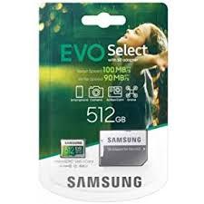 Memoria Micro SD SAMSUNG MB-ME512HA - 512GB EVO Se